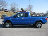 2011 Blue Flame Metallic Ford F150 XLT SuperCab 4x4 #45448936