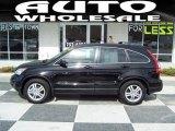 2010 Crystal Black Pearl Honda CR-V EX-L AWD #45450086