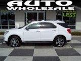 2010 Summit White Chevrolet Equinox LTZ #45450105