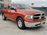 2009 Sunburst Orange Pearl Dodge Ram 1500 SLT Quad Cab #45394917