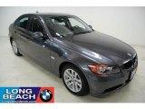 2007 Space Gray Metallic BMW 3 Series 328i Sedan #45394928