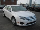 2011 White Platinum Tri-Coat Ford Fusion SEL #45395024