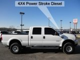 2004 Oxford White Ford F250 Super Duty Lariat Crew Cab 4x4 #45396631
