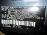 2008 Tundra Color Code for Slate Gray Metallic - Color Code: 1F9