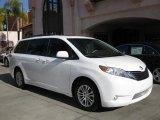 2011 Super White Toyota Sienna XLE #45449512
