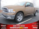 2011 Saddle Brown Pearl Dodge Ram 1500 Big Horn Quad Cab #45449536
