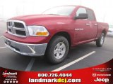 2011 Deep Cherry Red Crystal Pearl Dodge Ram 1500 SLT Quad Cab #45449537