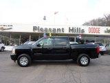 2009 Black Chevrolet Silverado 1500 LS Crew Cab 4x4 #45497959