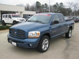 2006 Atlantic Blue Pearl Dodge Ram 1500 Sport Quad Cab #45395341