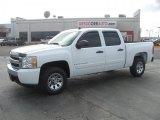 2008 Summit White Chevrolet Silverado 1500 LS Crew Cab #45395351