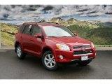 2011 Barcelona Red Metallic Toyota RAV4 V6 Limited 4WD #45496264