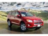 2011 Barcelona Red Metallic Toyota RAV4 V6 Limited 4WD #45496272