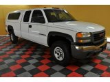 2003 Summit White GMC Sierra 2500HD Extended Cab 4x4 #45498007