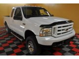 2004 Oxford White Ford F250 Super Duty XLT SuperCab 4x4 #45498009