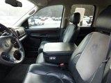 2003 Dodge Ram 1500 Laramie Quad Cab 4x4 Dark Slate Gray Interior