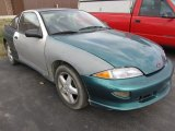 1999 Medium Green Metallic Chevrolet Cavalier Z24 Coupe #45498042