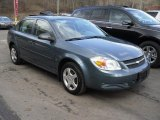 2007 Blue Granite Metallic Chevrolet Cobalt LS Sedan #45496529