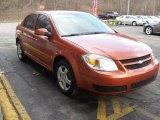 2007 Sunburst Orange Metallic Chevrolet Cobalt LT Sedan #45496530