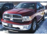 2011 Deep Cherry Red Crystal Pearl Dodge Ram 1500 SLT Quad Cab 4x4 #45395585