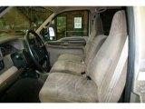 1999 Ford F350 Super Duty XLT Crew Cab Dually Camel Interior