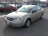 2007 Sandstone Metallic Chevrolet Cobalt LS Sedan #45395598