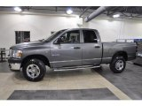 2008 Mineral Gray Metallic Dodge Ram 1500 SXT Quad Cab 4x4 #45449669