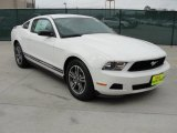 2011 Performance White Ford Mustang V6 Premium Coupe #45449671