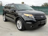 2011 Tuxedo Black Metallic Ford Explorer Limited #45449676