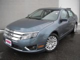 2011 Ford Fusion Steel Blue Metallic