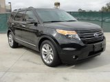 Tuxedo Black Metallic Ford Explorer in 2011