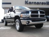 2004 Black Dodge Ram 1500 SLT Quad Cab 4x4 #45498080