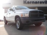 2003 Bright White Dodge Ram 1500 ST Quad Cab 4x4 #45498081