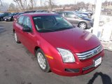 2008 Redfire Metallic Ford Fusion S #45395703