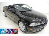 2002 Jet Black BMW 3 Series 330i Convertible #45449724