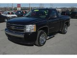 2007 Black Chevrolet Silverado 1500 LS Regular Cab #45498201