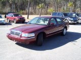 2009 Dark Toreador Red Metallic Mercury Grand Marquis LS #45450282