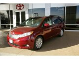 2011 Salsa Red Pearl Toyota Sienna Limited AWD #45559736