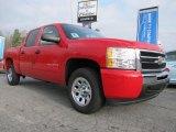 2011 Victory Red Chevrolet Silverado 1500 LS Crew Cab #45497612