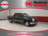 2006 Dark Green Metallic Chevrolet Silverado 1500 LS Crew Cab #45447682