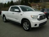 2007 Super White Toyota Tundra Limited Double Cab 4x4 #45498637