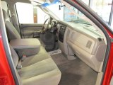 2002 Dodge Ram 1500 SLT Quad Cab Taupe Interior