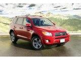 2011 Barcelona Red Metallic Toyota RAV4 V6 Sport 4WD #45448257