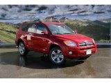 2011 Barcelona Red Metallic Toyota RAV4 V6 Sport 4WD #45448260