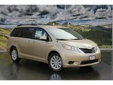 2011 Sandy Beach Metallic Toyota Sienna LE AWD #45448263