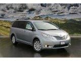 2011 Silver Sky Metallic Toyota Sienna Limited AWD #45448266