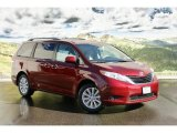 2011 Salsa Red Pearl Toyota Sienna LE AWD #45448267