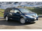 2011 South Pacific Blue Pearl Toyota Sienna XLE AWD #45448270