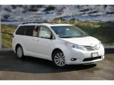 2011 Blizzard White Pearl Toyota Sienna Limited AWD #45448272