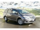 2011 Predawn Gray Mica Toyota Sienna Limited #45448275