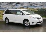2011 Super White Toyota Sienna LE #45448276